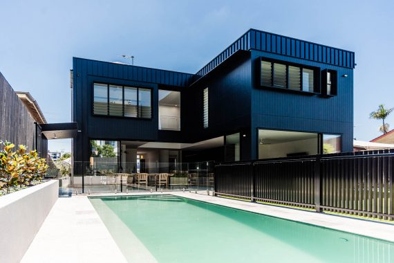 Back of house by Spencer Constructions